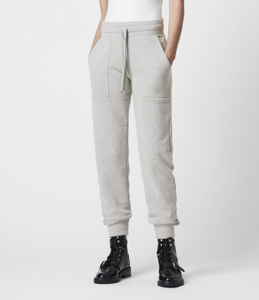 Women's Lucia Cuffed Relaxed Sweatpants (grey_marl) - Image 4