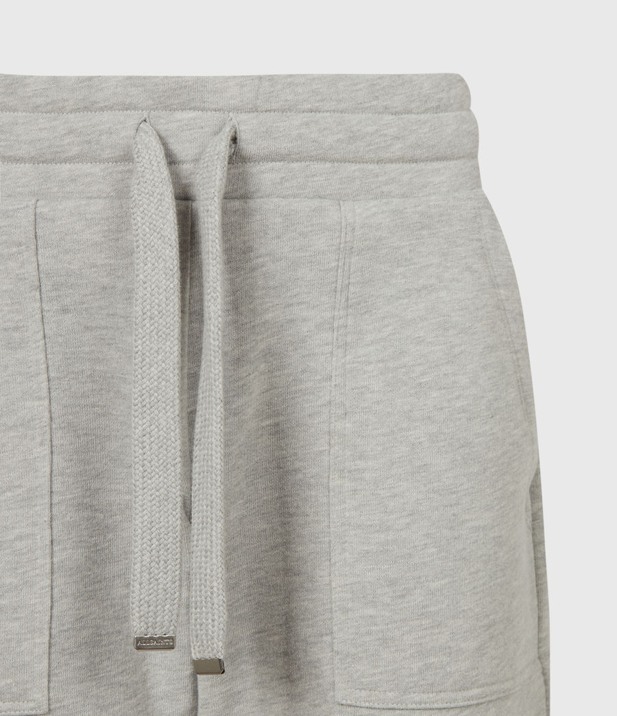 Women's Lucia Cuffed Relaxed Sweatpants (grey_marl) - Image 5