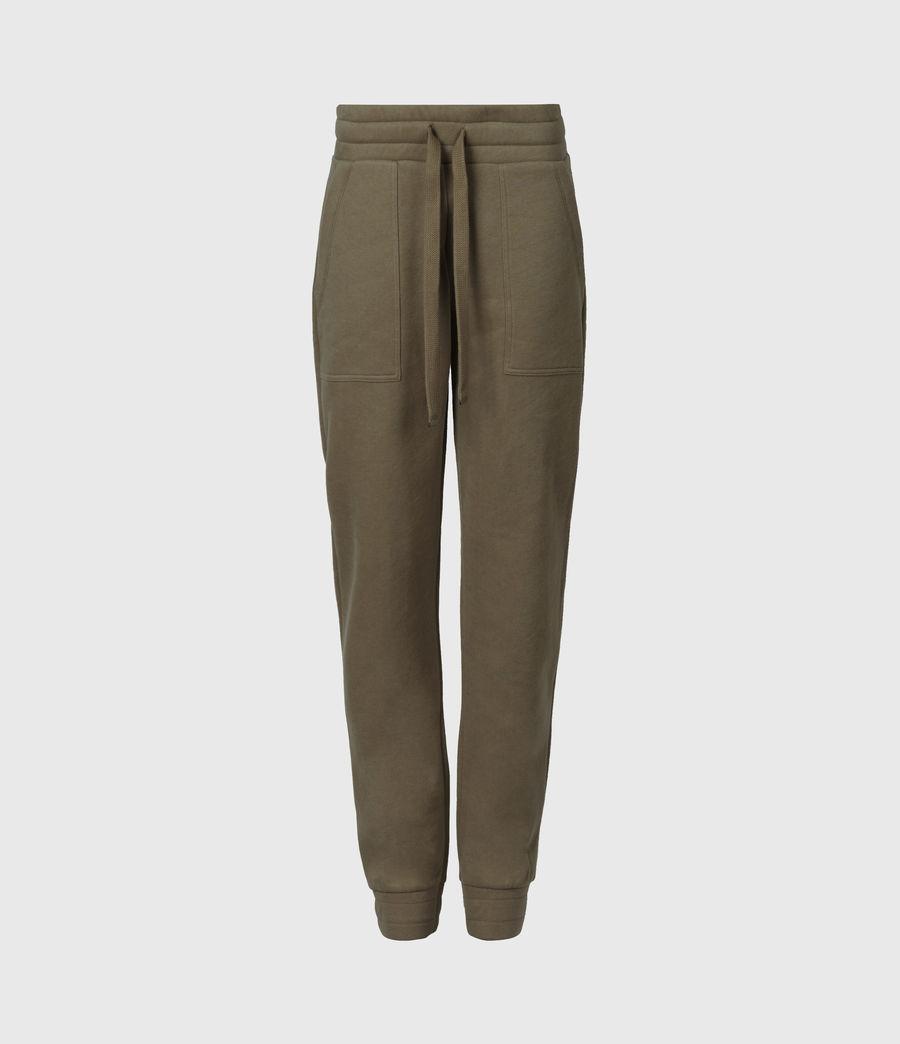 Womens Lucia Cuffed Relaxed Sweatpants (khaki_green) - Image 2