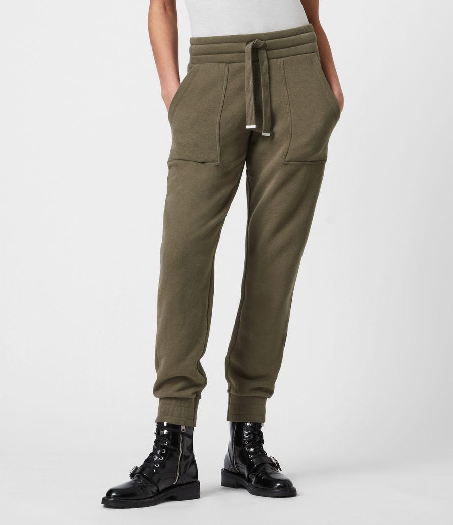 Womens Lucia Cuffed Relaxed Sweatpants (khaki_green) - Image 7