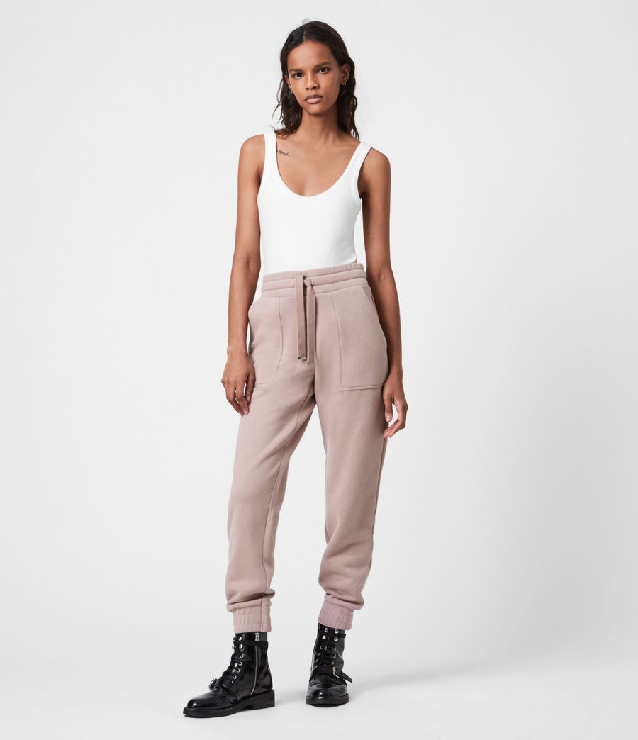 Womens Lucia Cuffed Relaxed Sweatpants (morning_mauve) - Image 1