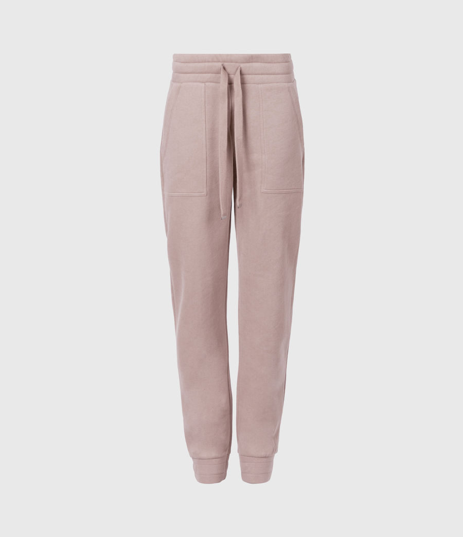 Womens Lucia Cuffed Relaxed Sweatpants (morning_mauve) - Image 2