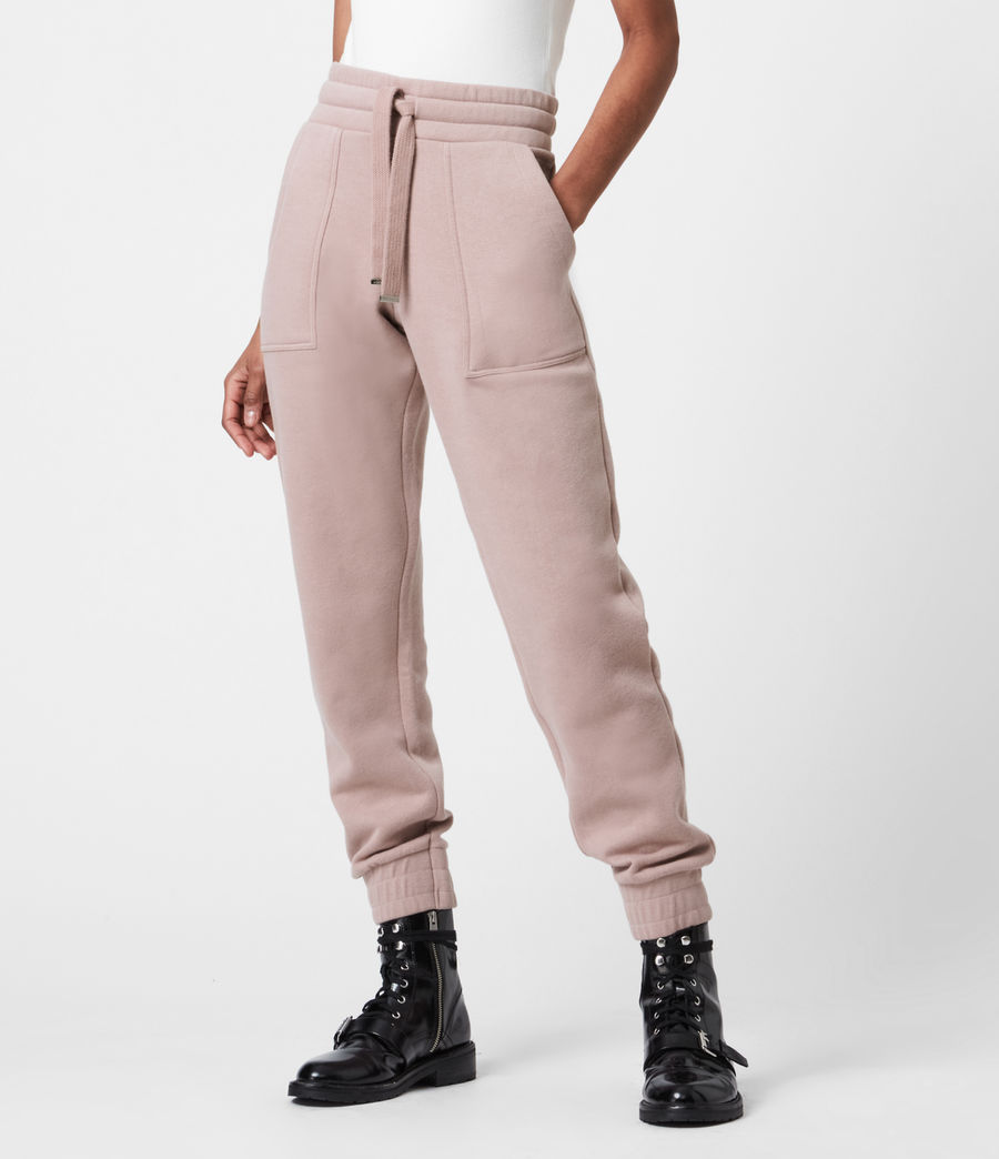 Womens Lucia Cuffed Relaxed Sweatpants (morning_mauve) - Image 4