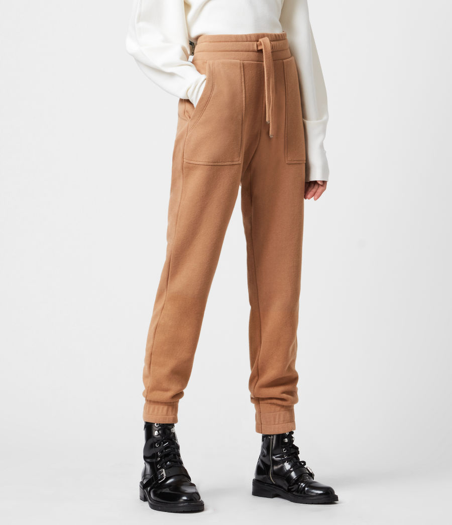 Women's Lucia Cuffed Relaxed Sweatpants (desert_tan) - Image 4