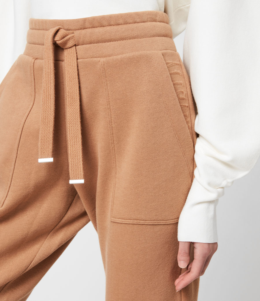 Women's Lucia Cuffed Relaxed Sweatpants (desert_tan) - Image 7