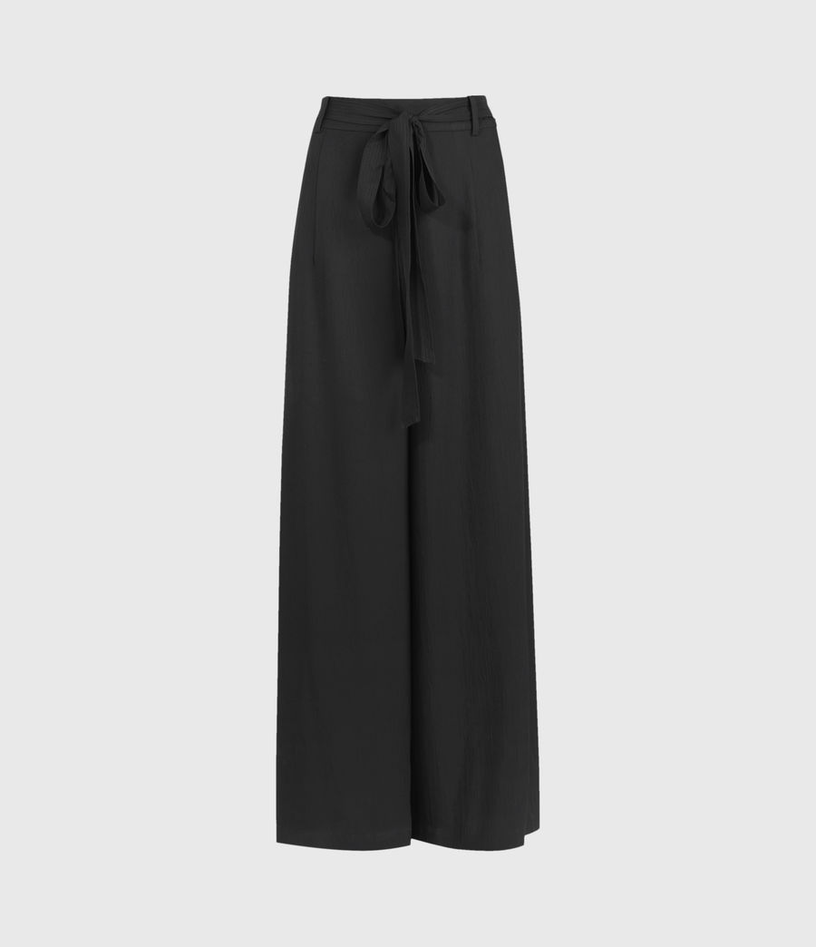 Damen Tami High-Rise Trousers (black) - Image 1