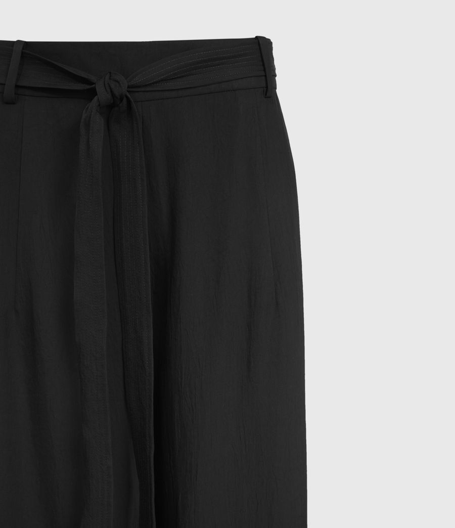 Damen Tami High-Rise Trousers (black) - Image 3