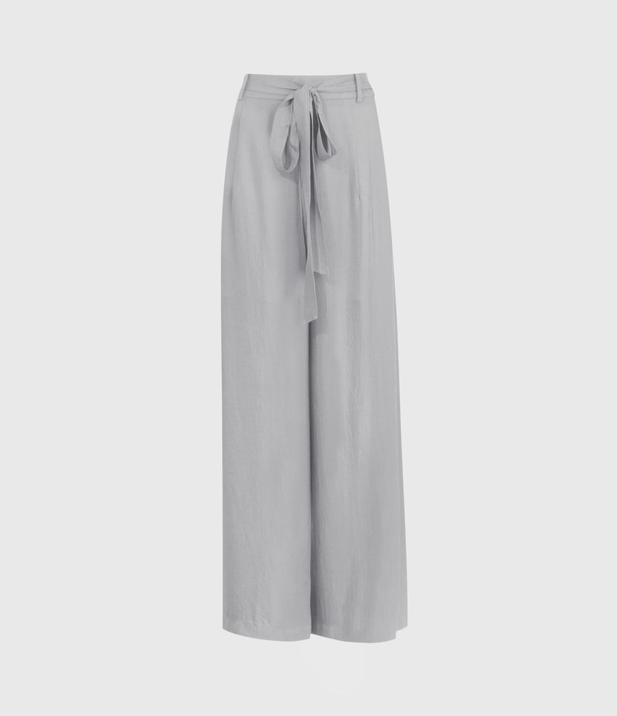 Damen Tami High-Rise Trousers (muted_grey) - Image 1