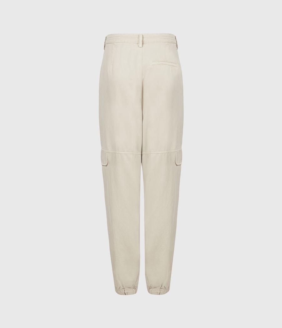 Women's Lira High-Rise Trousers (stone_white) - Image 3