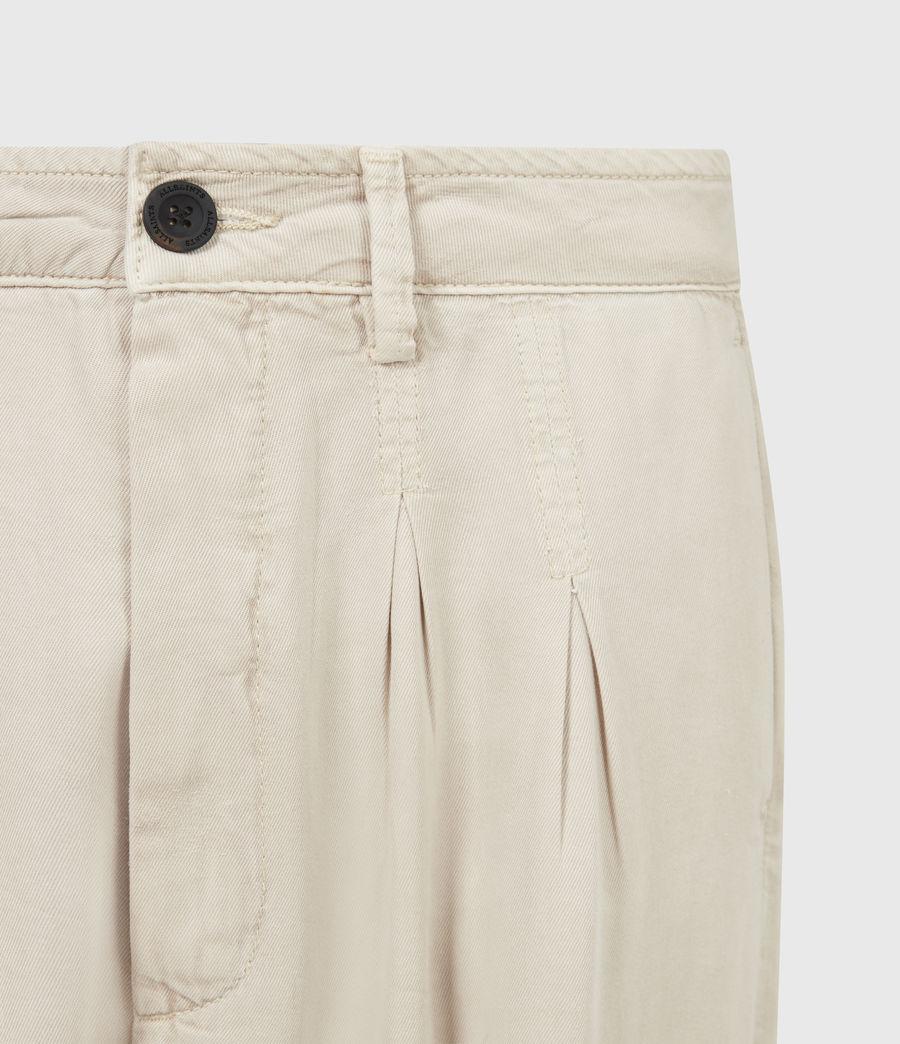 Women's Lira High-Rise Trousers (stone_white) - Image 5