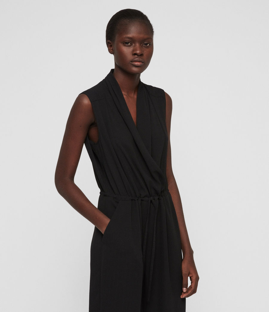 Mujer Jumpsuit Cassie (black) - Image 3