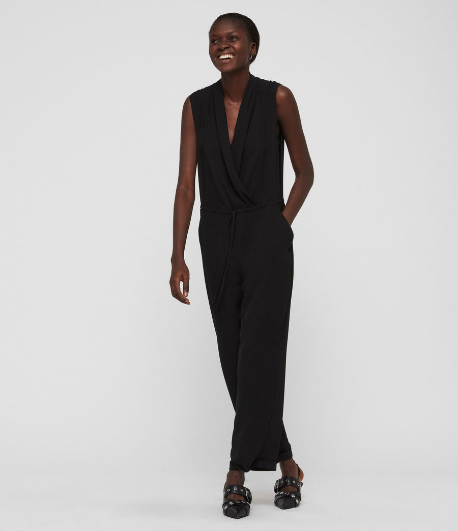 Mujer Jumpsuit Cassie (black) - Image 4
