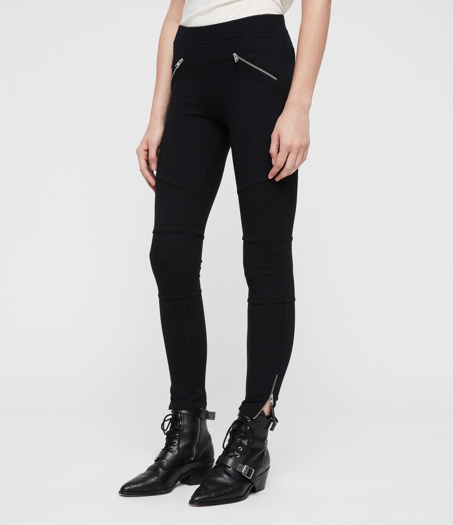 Damen Terro Zip Leggings (black) - Image 2