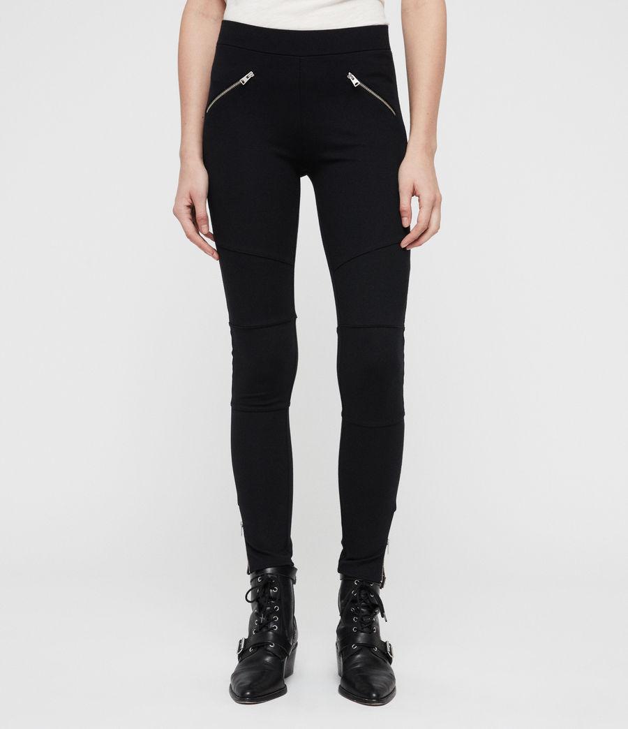 Damen Terro Zip Leggings (black) - Image 3