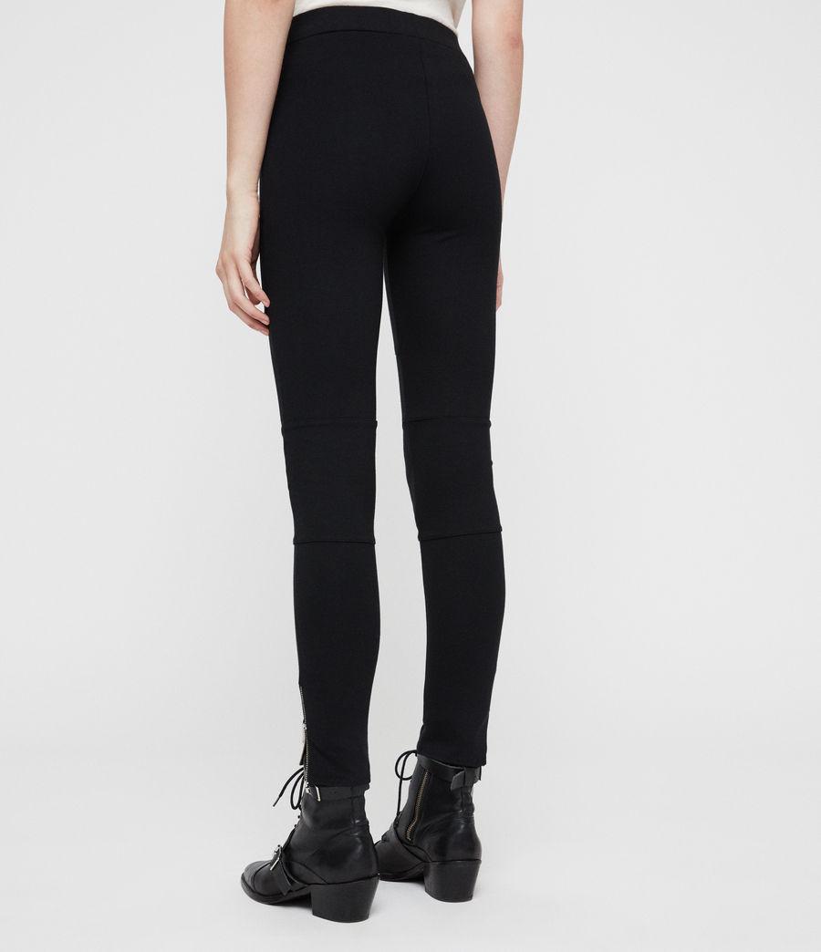 Damen Terro Zip Leggings (black) - Image 4