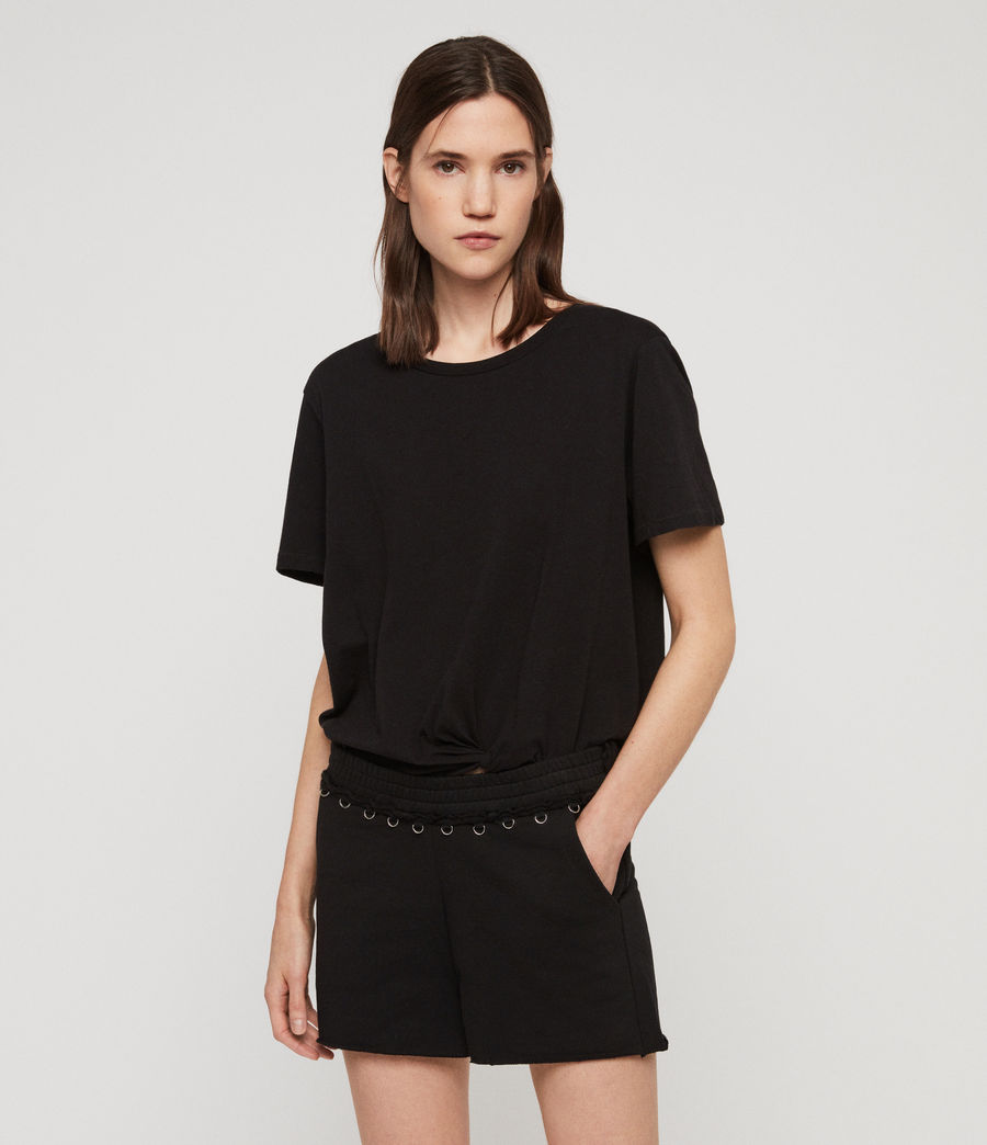 Women's Daner Shorts (black) - Image 1