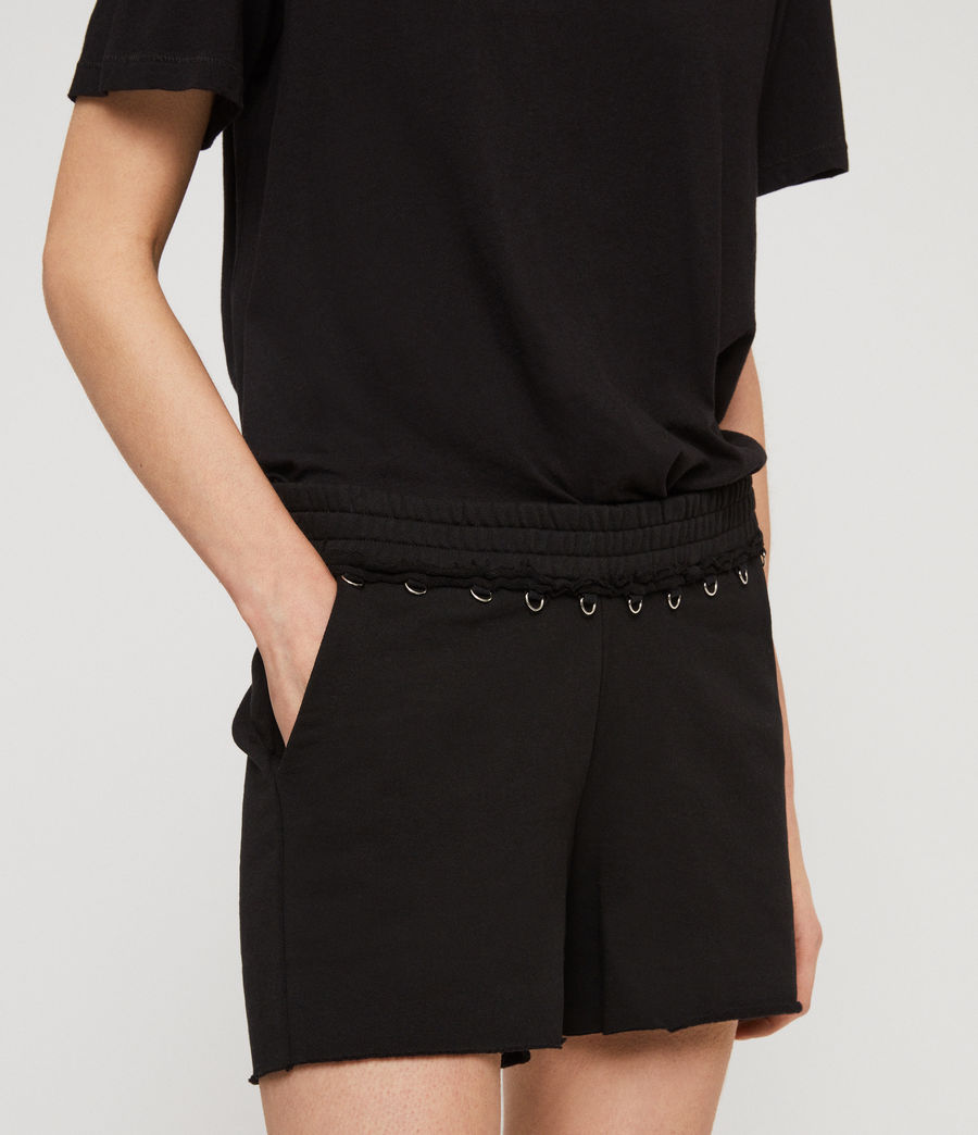 Women's Daner Shorts (black) - Image 2
