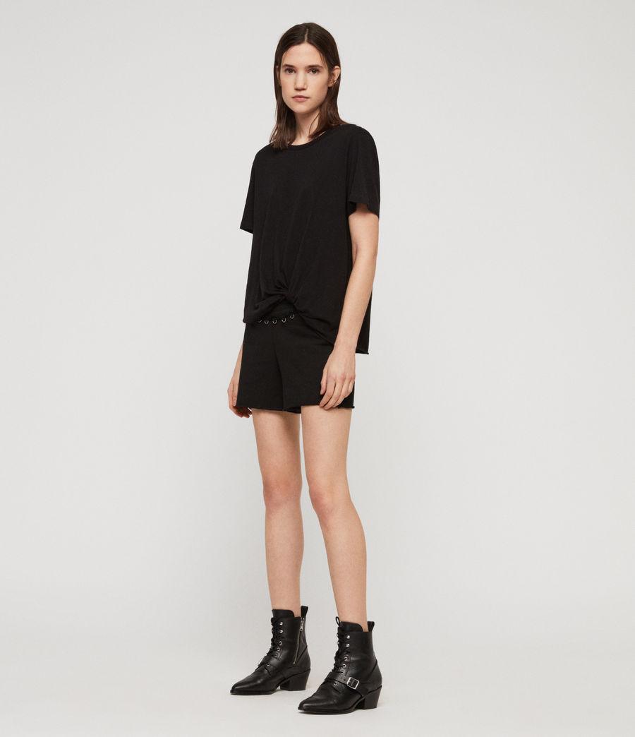 Women's Daner Shorts (black) - Image 3