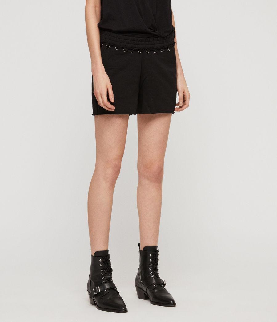 Women's Daner Shorts (black) - Image 4