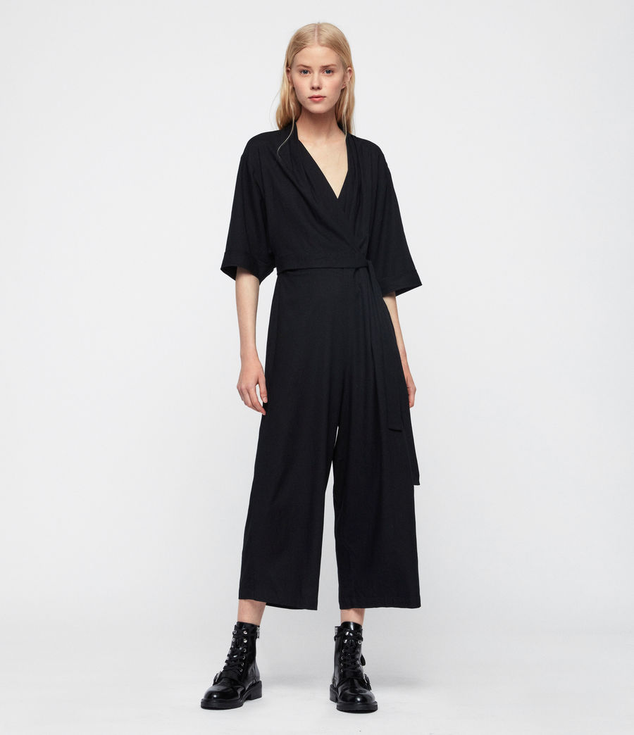 Womens Laurel Jumpsuit (black) - Image 1