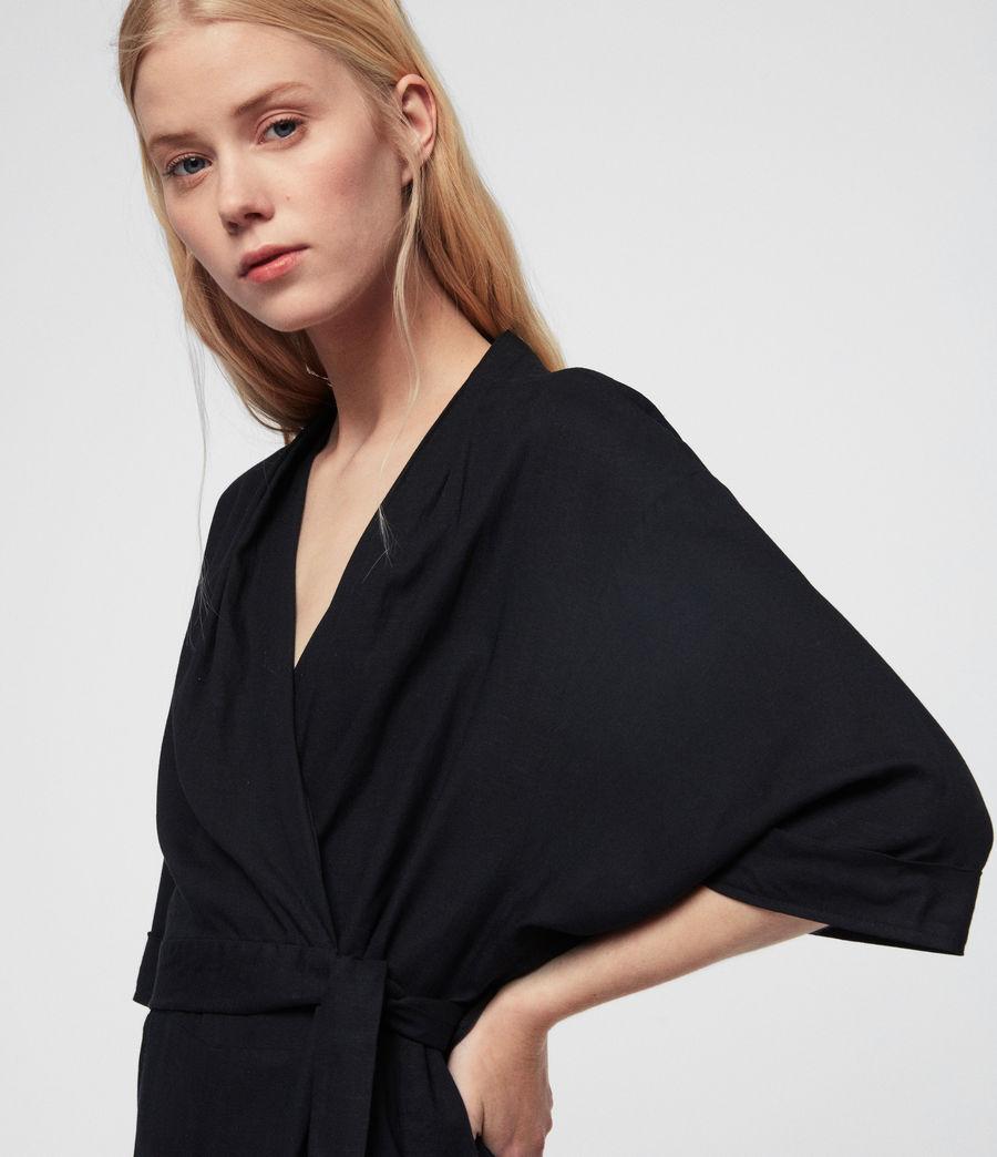 Women's Laurel Jumpsuit (black) - Image 2