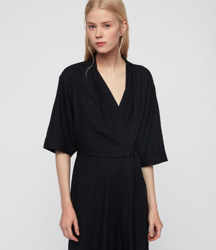Women's Laurel Jumpsuit (black) - Image 3