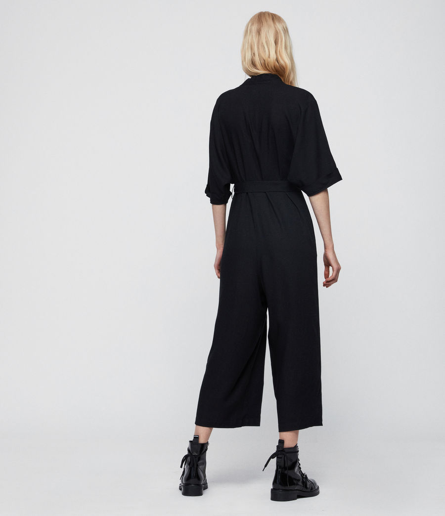 Womens Laurel Jumpsuit (black) - Image 5
