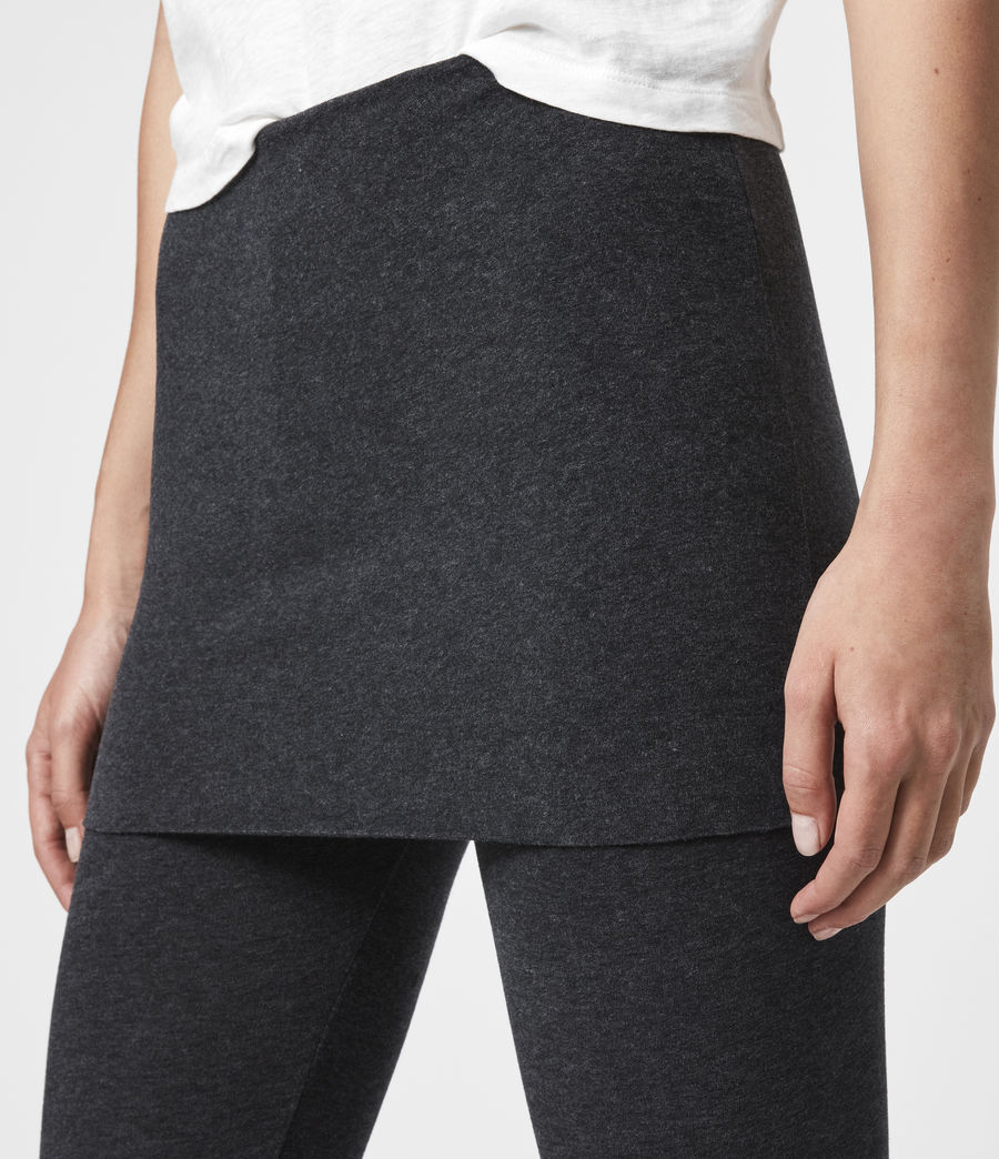 Women's Raffi Leggings (charcoal) - Image 2