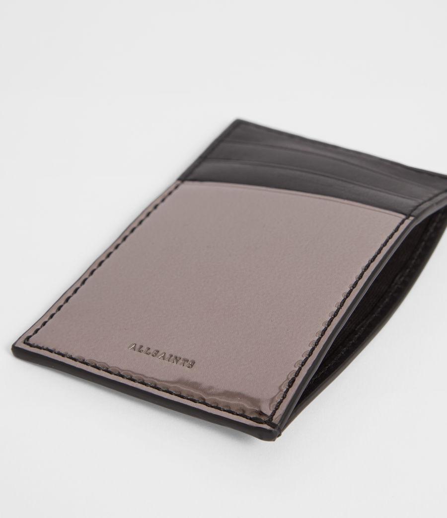 Women's Clip Mirror Cardholder (gunmetal_grey) - Image 2