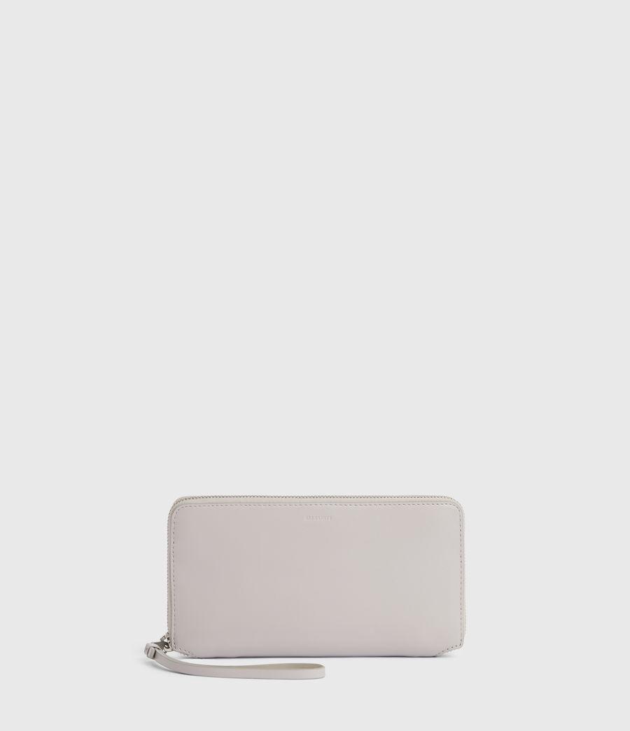Women's Fetch Leather Phone Wristlet (dusty_lilac) - Image 1