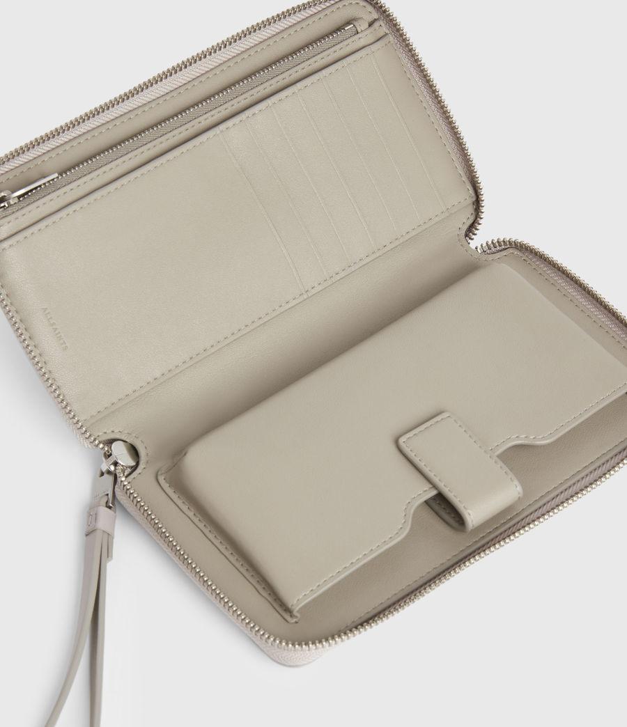 Women's Fetch Leather Phone Wristlet (dusty_lilac) - Image 2