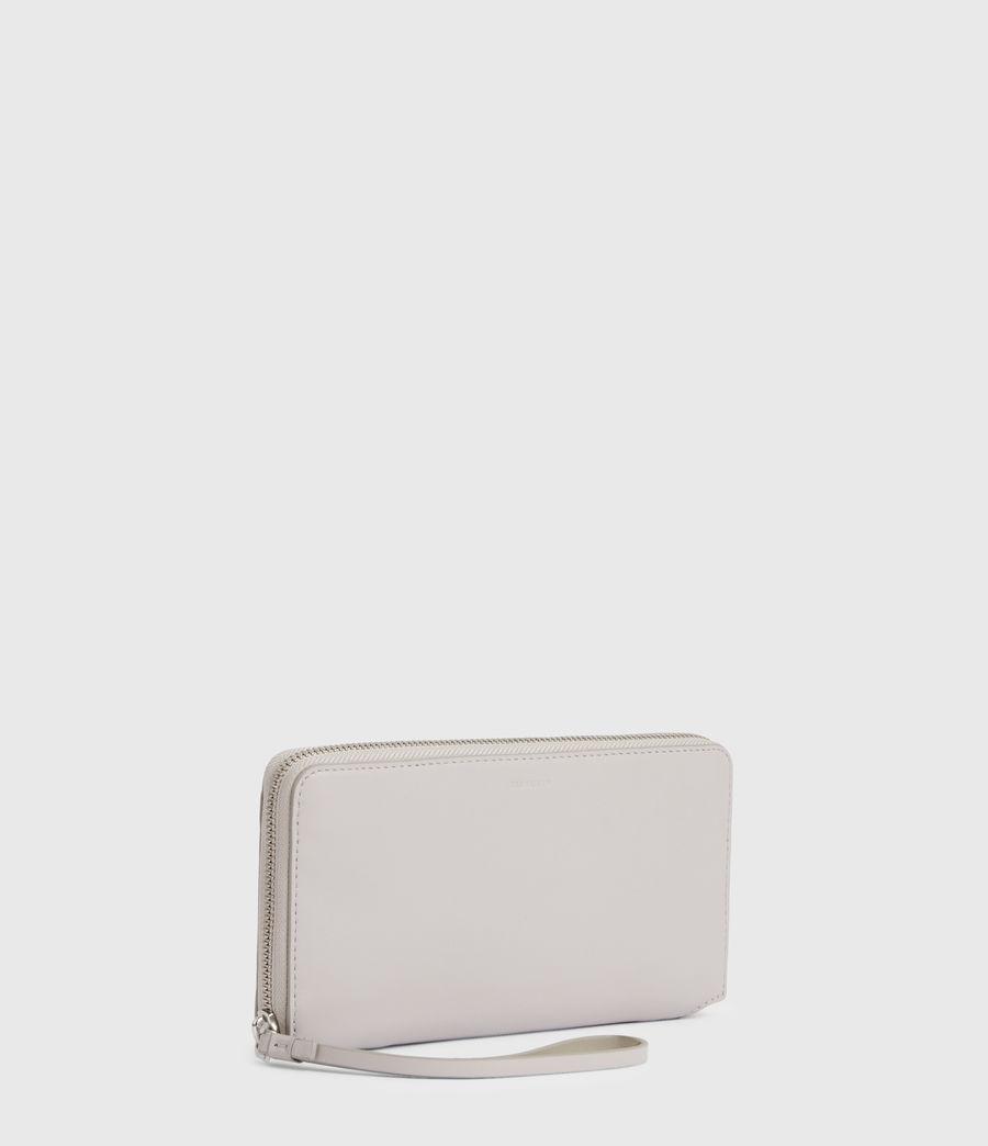 Women's Fetch Leather Phone Wristlet (dusty_lilac) - Image 3