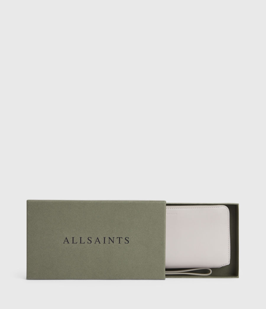 Women's Fetch Leather Phone Wristlet (dusty_lilac) - Image 6