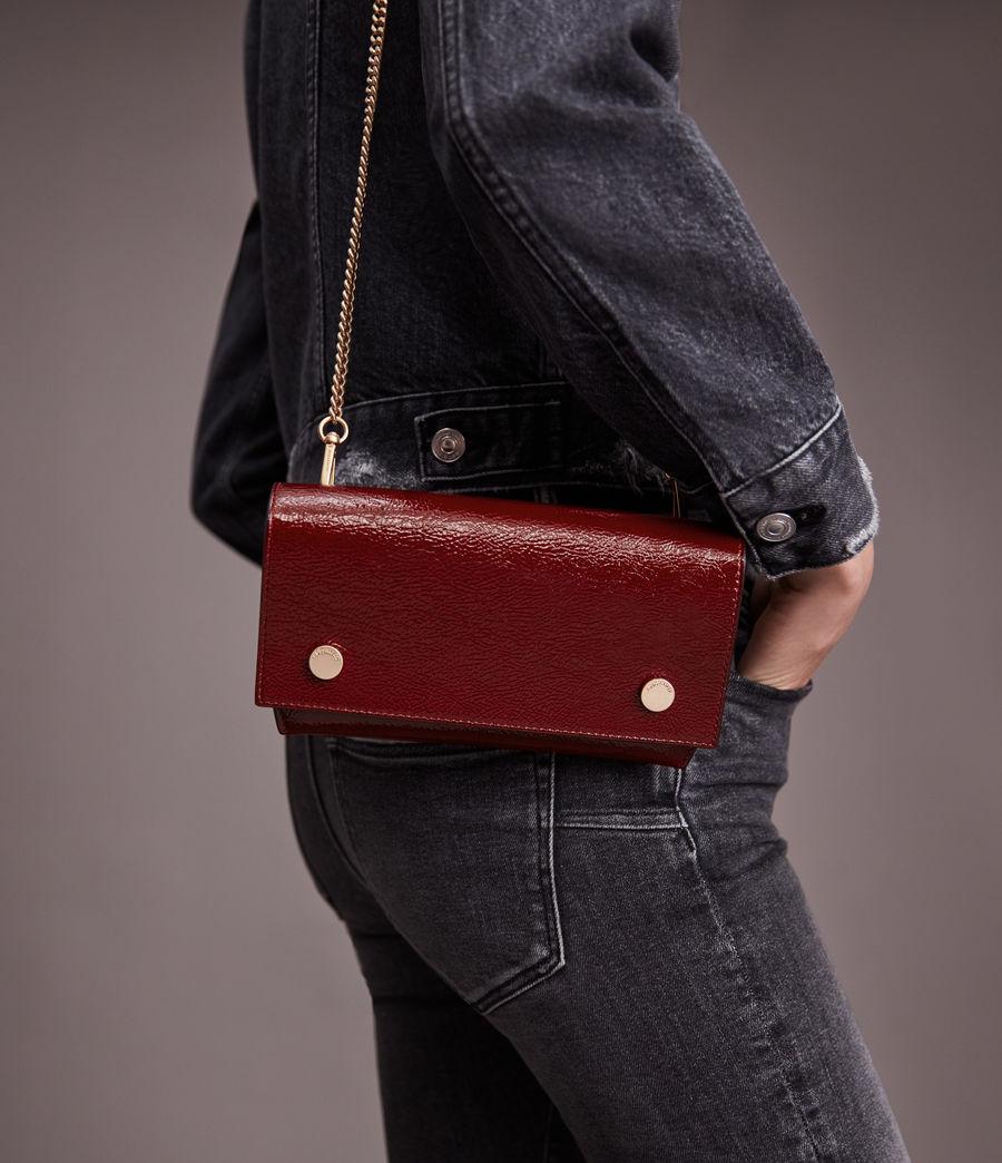Women's Albert Leather Wallet (liquid_rouge) - Image 1