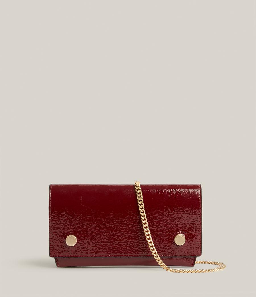 Women's Albert Leather Wallet (liquid_rouge) - Image 2