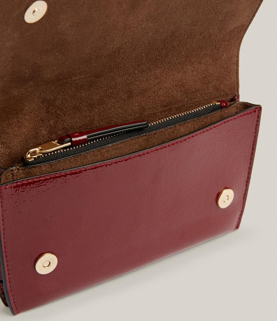 Women's Albert Leather Wallet (liquid_rouge) - Image 3