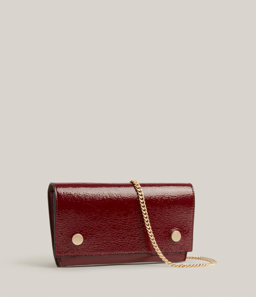 Women's Albert Leather Wallet (liquid_rouge) - Image 5
