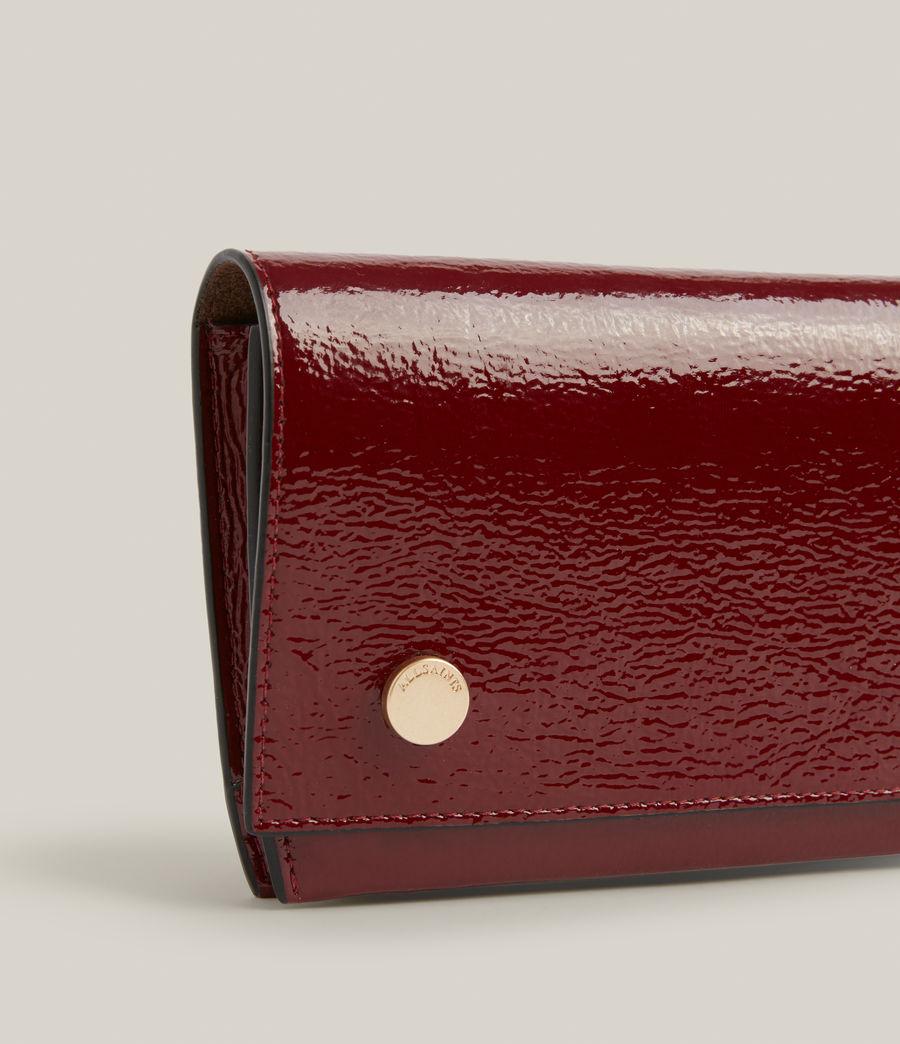 Women's Albert Leather Wallet (liquid_rouge) - Image 6