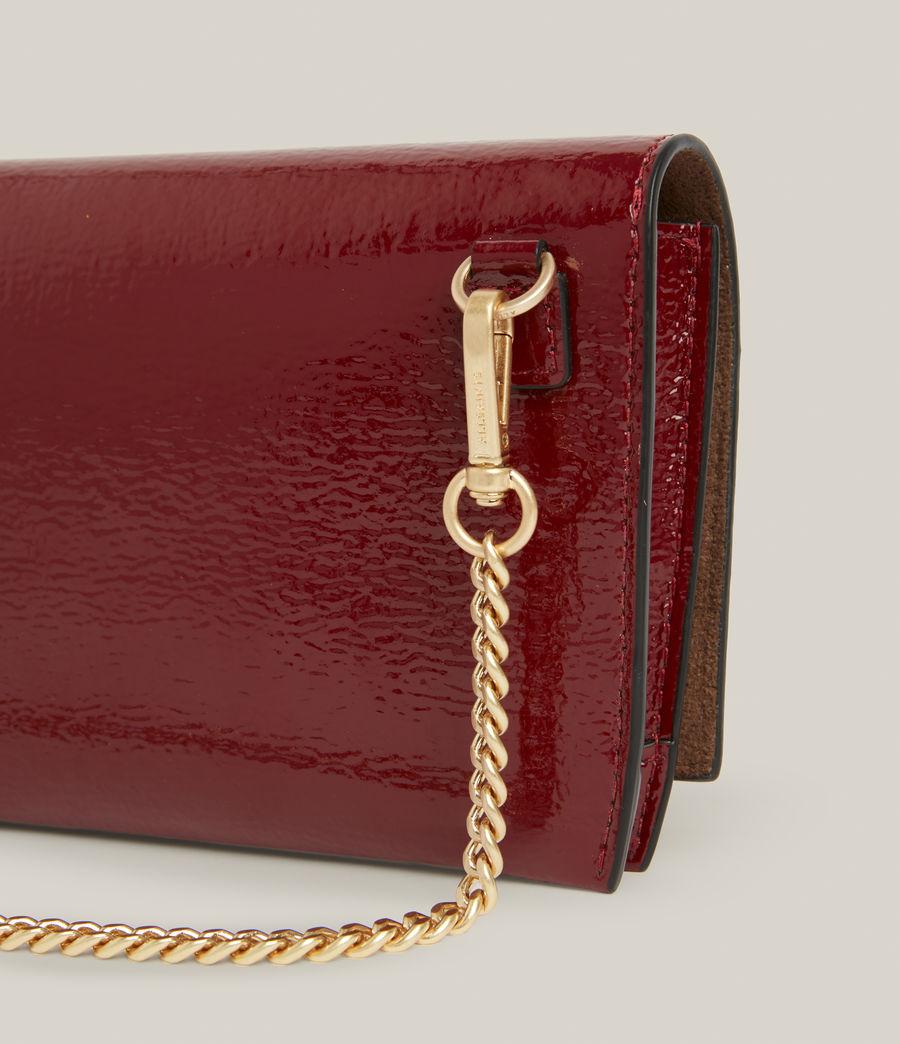 Women's Albert Leather Wallet (liquid_rouge) - Image 7