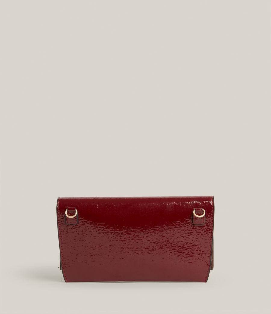 Women's Albert Leather Wallet (liquid_rouge) - Image 8
