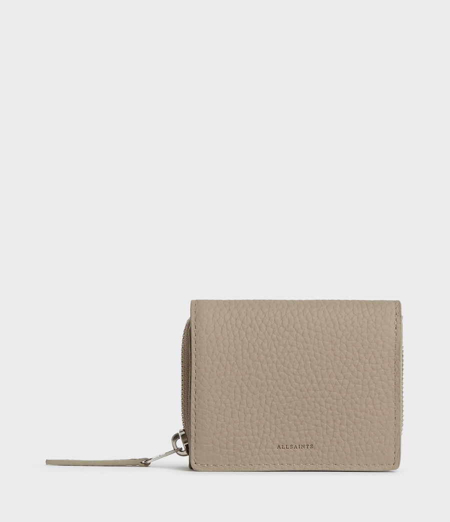 Mujer Captain Small Leather Wallet (dune) - Image 1