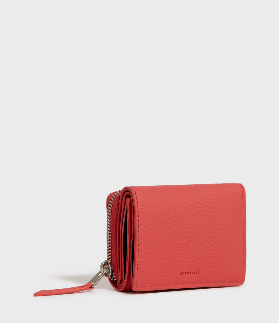 Womens Captain Small Leather Wallet (sand_beige) - Image 2