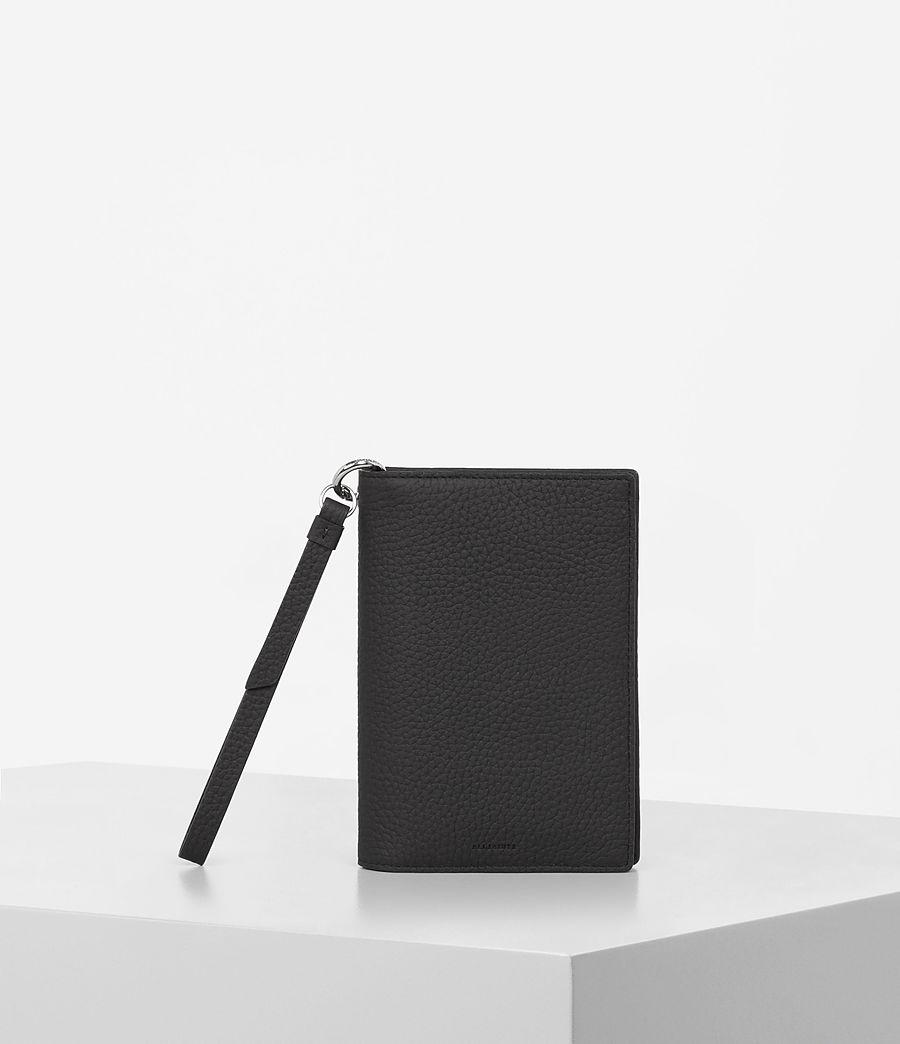 Womens Fetch Passport Wallet (black) - Image 1