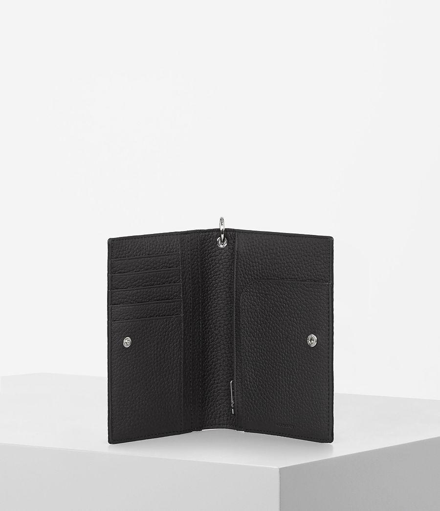 Womens Fetch Passport Wallet (black) - Image 2