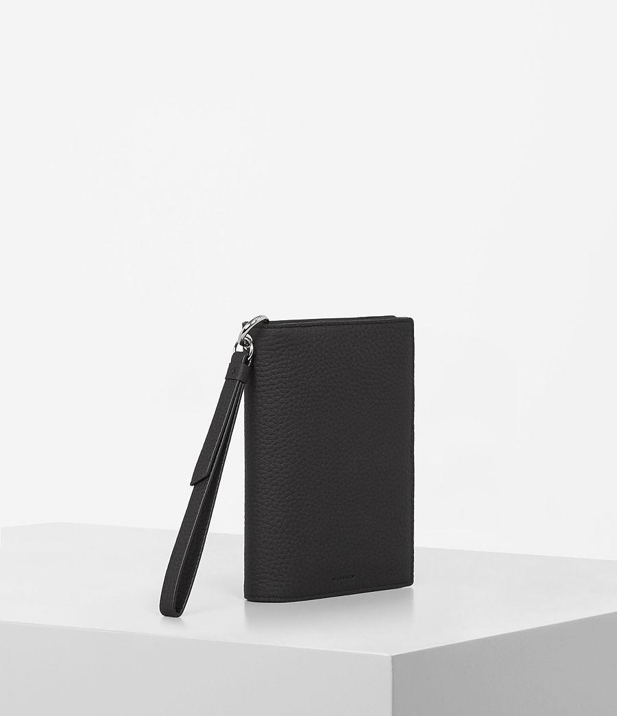 Womens Fetch Passport Wallet (black) - Image 3