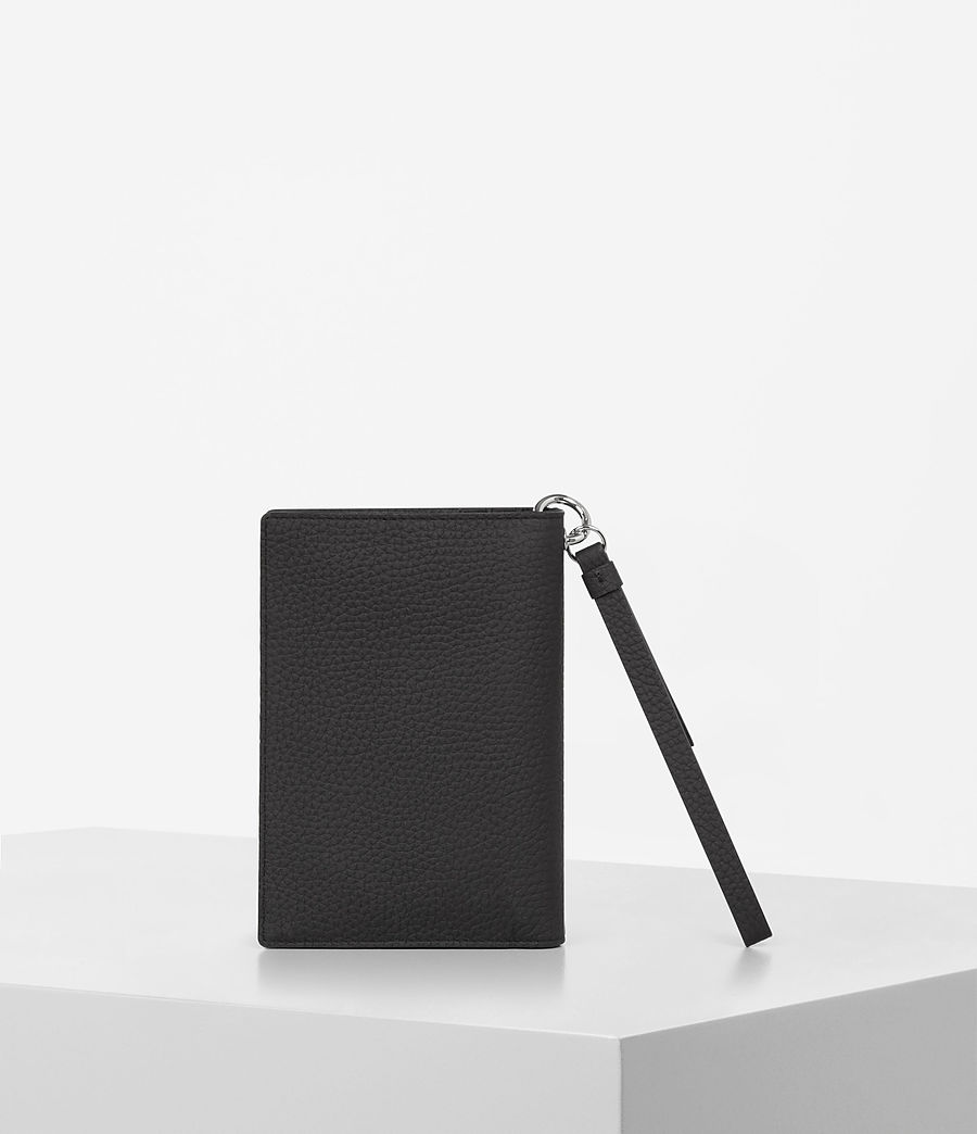 Womens Fetch Passport Wallet (black) - Image 5