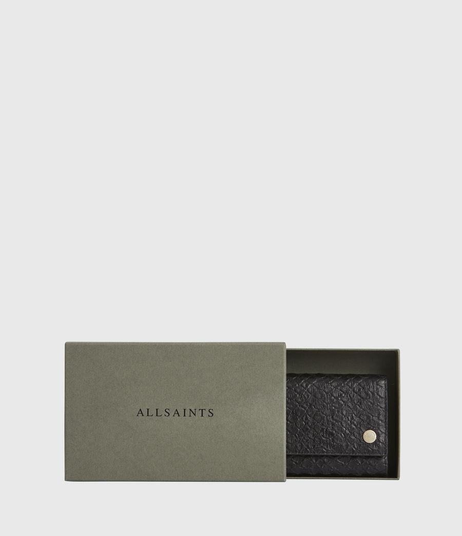 Women's Holland Leather Wallet (black_python) - Image 7
