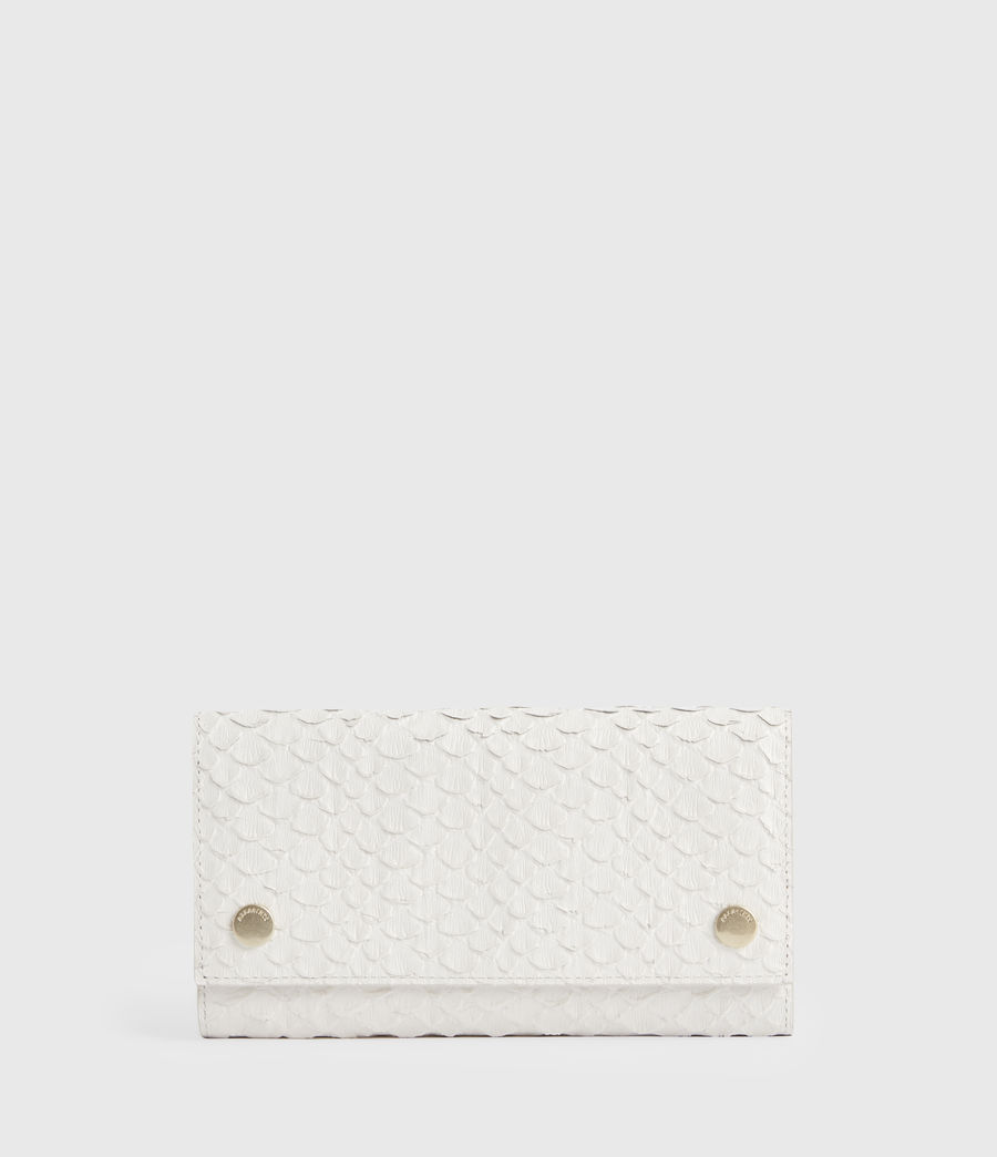 Women's Holland Leather Wallet (roe_white) - Image 1