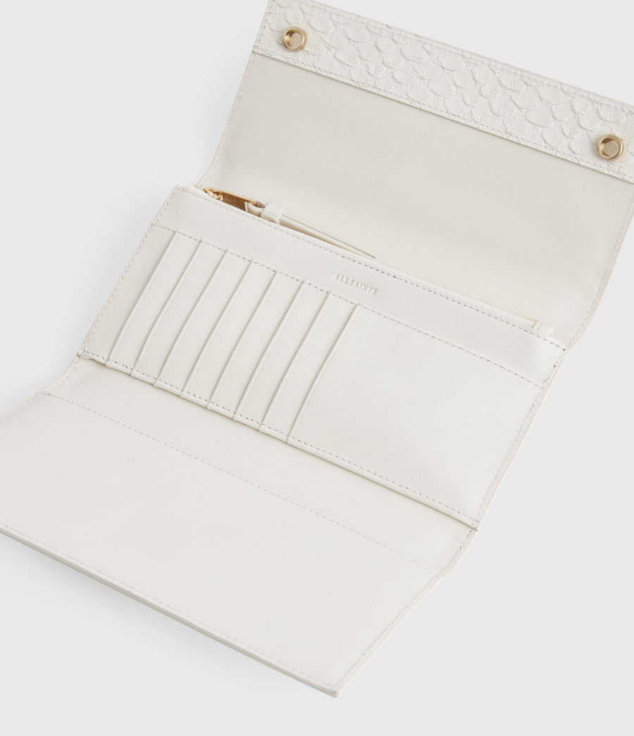 Women's Holland Leather Wallet (roe_white) - Image 2