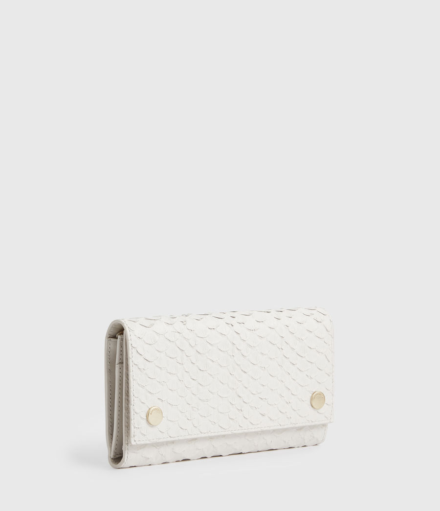 Women's Holland Leather Wallet (roe_white) - Image 3
